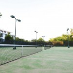 Cancha de tenis The Villas at The Royal Cancun