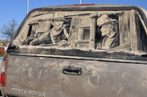 Arte en autos sucios