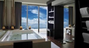 Interior del cuarto Hotel Live Aqua Cancun