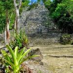 Piramide coba Riviera Maya