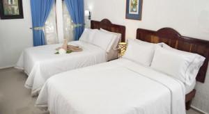 habitacion romantica Eco-hotel El Rey del Caribe Cancún