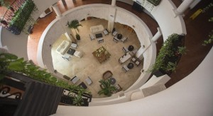 lobby hotel Adhara Hacienda Cancun