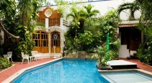 piscina Eco-hotel El Rey del Caribe Cancún