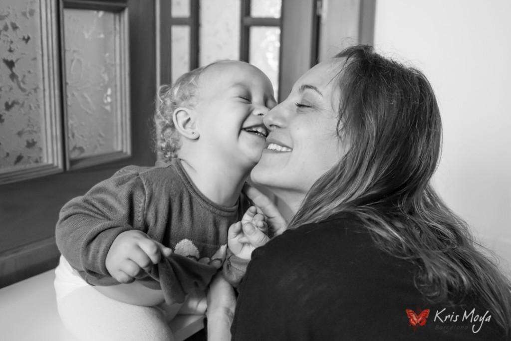 foto con mama