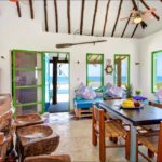 Beach front house at Puerto Morelos