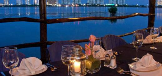 La Palapa Belga cancun cena romantica en la playa