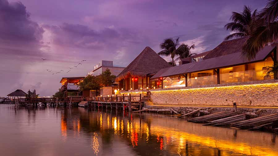 cenacolo restaurante cancun para enamorados