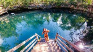 Cenote Popol Vuh Puerto morelos
