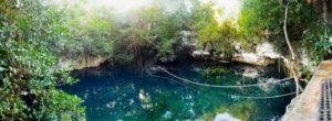 Cenote Verde Lucero puerto morelos