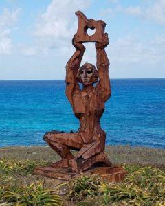 diosa Ixchel Punta sur isla Mujeres