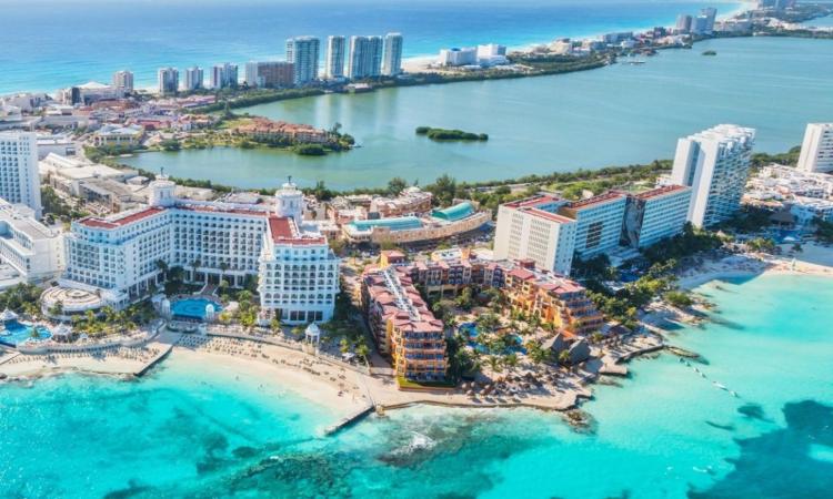 Zona Hotelera caracteristica de cancun