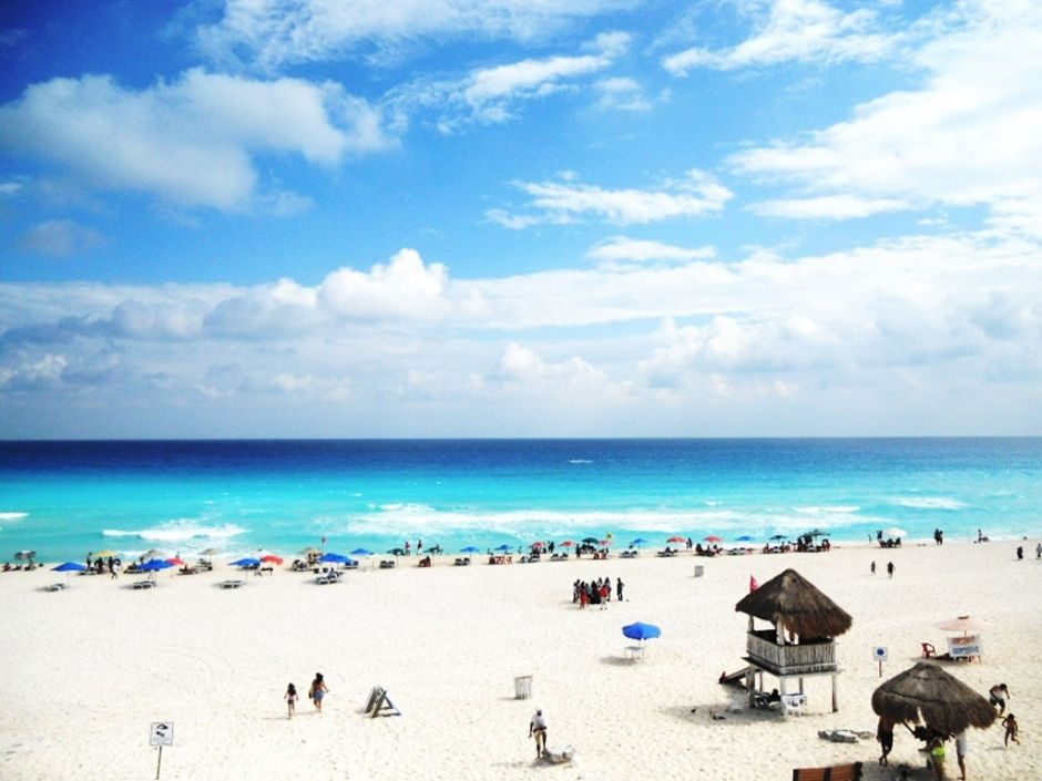 Playa Delfines playas de cancun