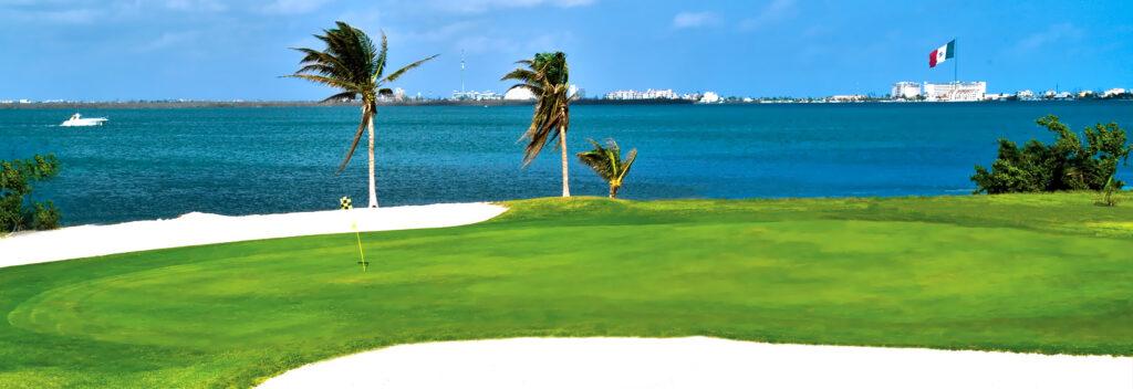 campo de golft cancun