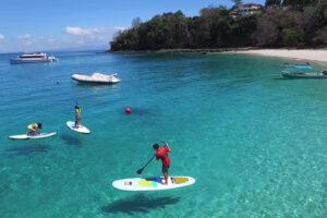 paddle board playa las perlas