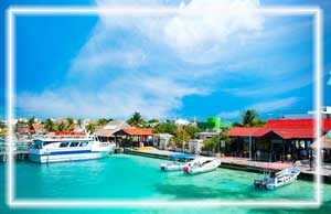 trasnportacion aeropuerto a isla mujeres